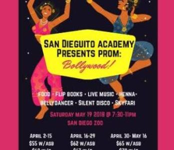 Bollywood and Boas- SDA Prom