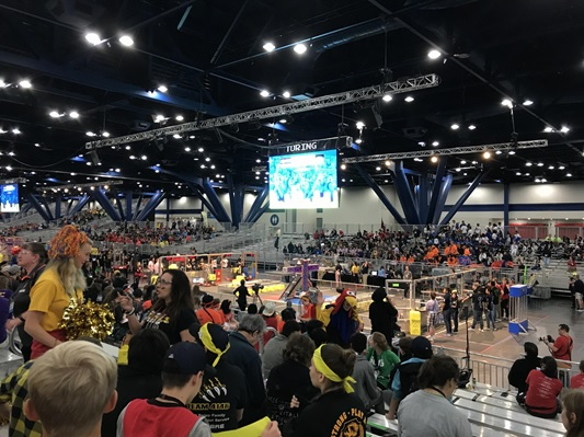 Team Paradox attended the robotics World Championships in Houston, Texas