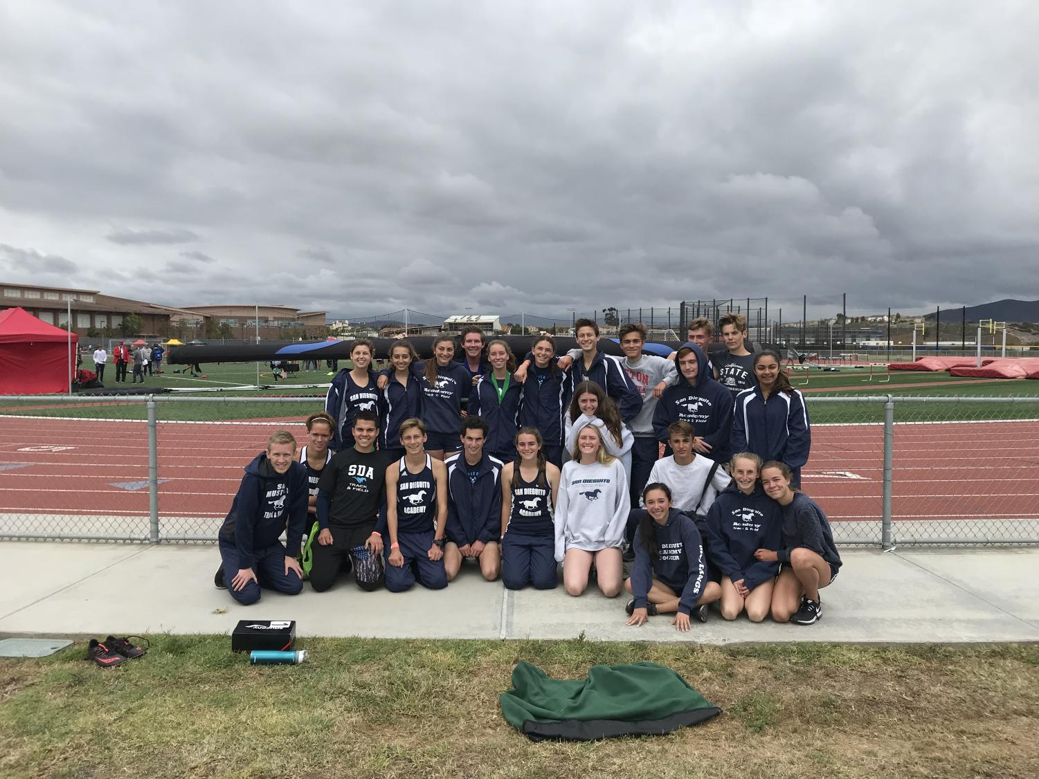 Some members of the SDA Track and Field team competed against five other schools Saturday.