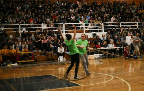 Winter Assembly: Full of fun games and a formposal