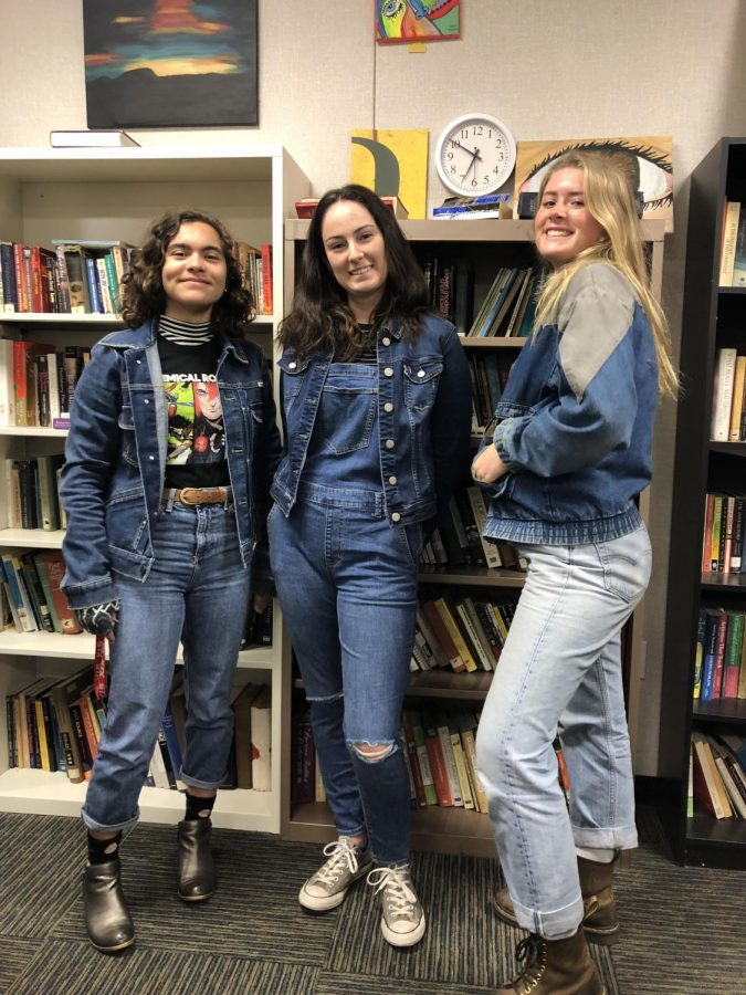 %28left+to+right%29+Junior+Alicia+Wallace%2C+junior+Rachel+Hohmeyer%2C+and+senior+Gracie+Williams+dressed+head-to-toe+in+denim.
