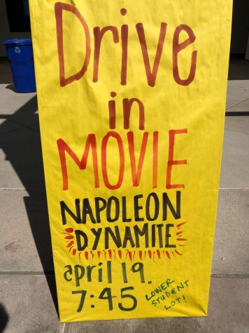 Tomorrow night, ASB is hosting a drive in movie at the lower student parking lot.
