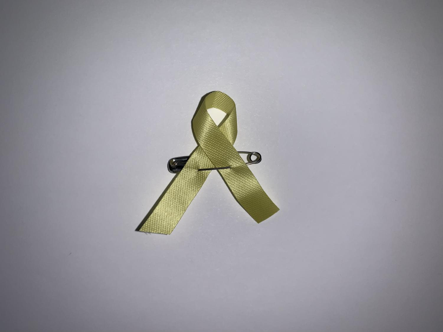 ASB is inviting students to wear yellow on Friday to represent the yellow ribbon.