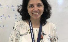 Our newest science teacher, Madhuri Agashe, is teaching physics.