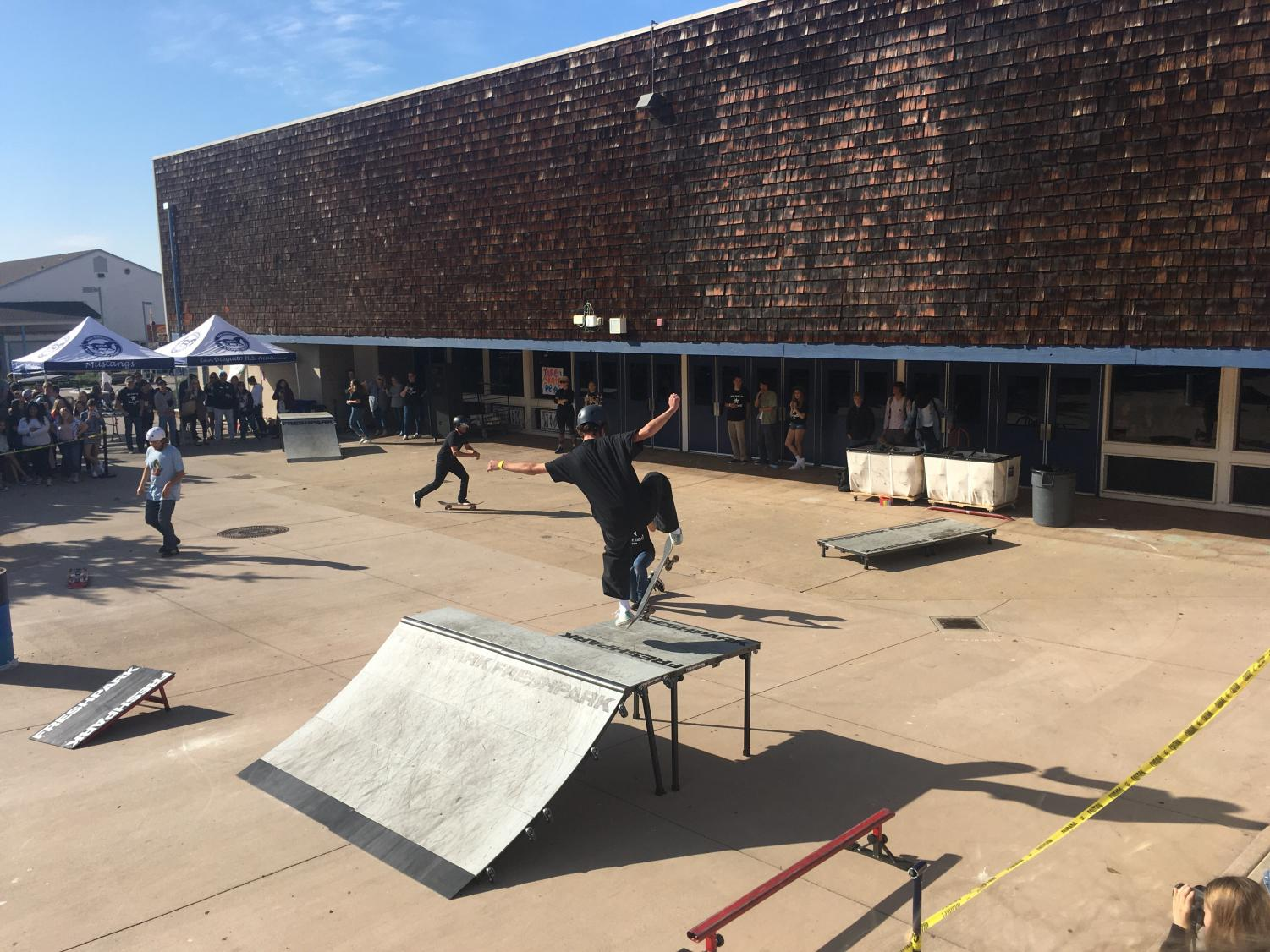 SDA Students gather together for second skate demo honoring a former student