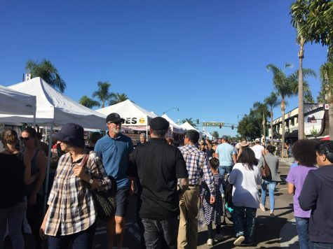 The 101 was packed last weekend. Not with the usual weekend traffic, but with people showcasing and selling their items and talents.