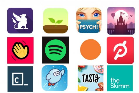 Taylor suggests 12 apps to keep you entertained and on top of things.