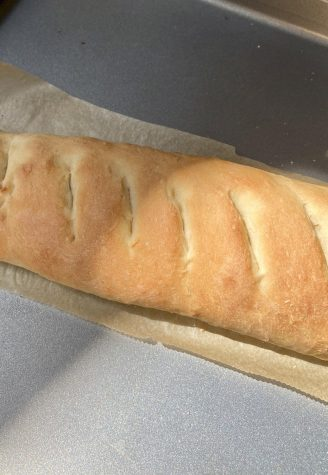 A delicious, crusty, and easy French baguette!