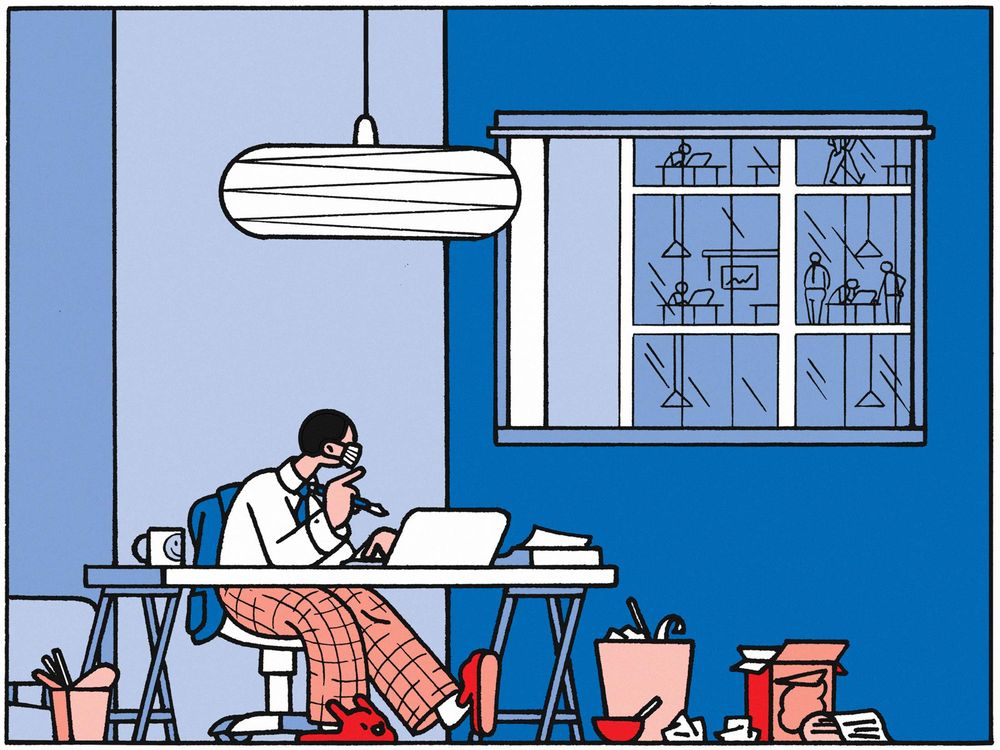 Getting work done from home needs a positive attitude and a clean workspace.