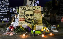 The Kook was decorated with posters and photos to those lost to racial violence