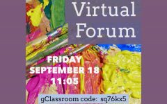 The Forum held its first meeting virtually for this school year