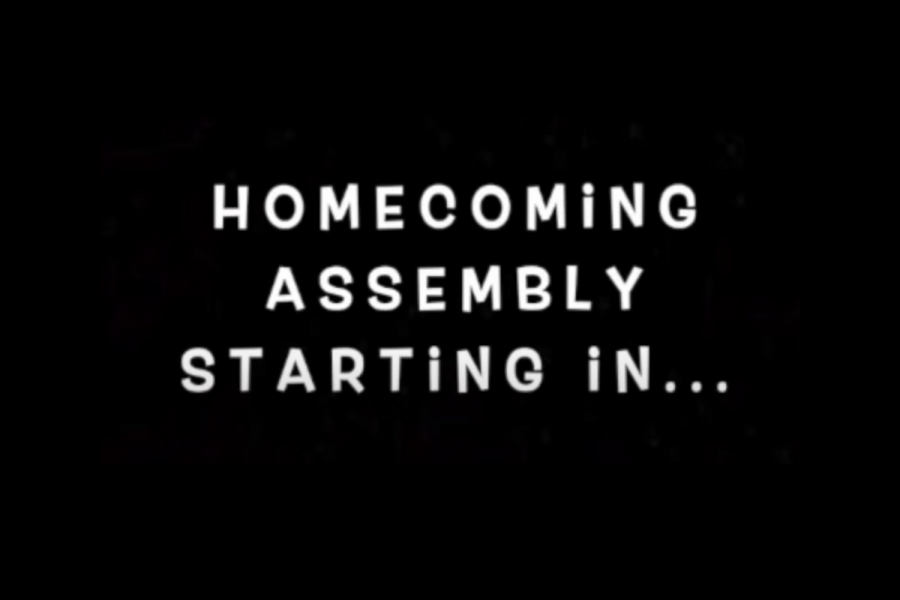 SDA ASB opens the video with a countdown from students and teachers