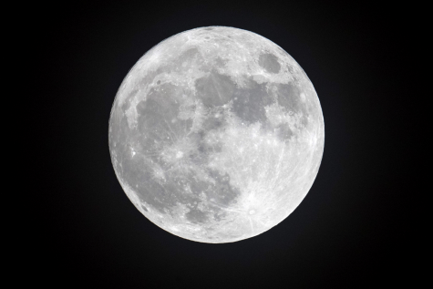 The full moon is the lunar phase when the Moon appears fully illuminated from Earth