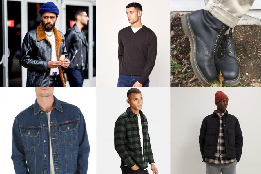 Winter Fashion Men from various sources