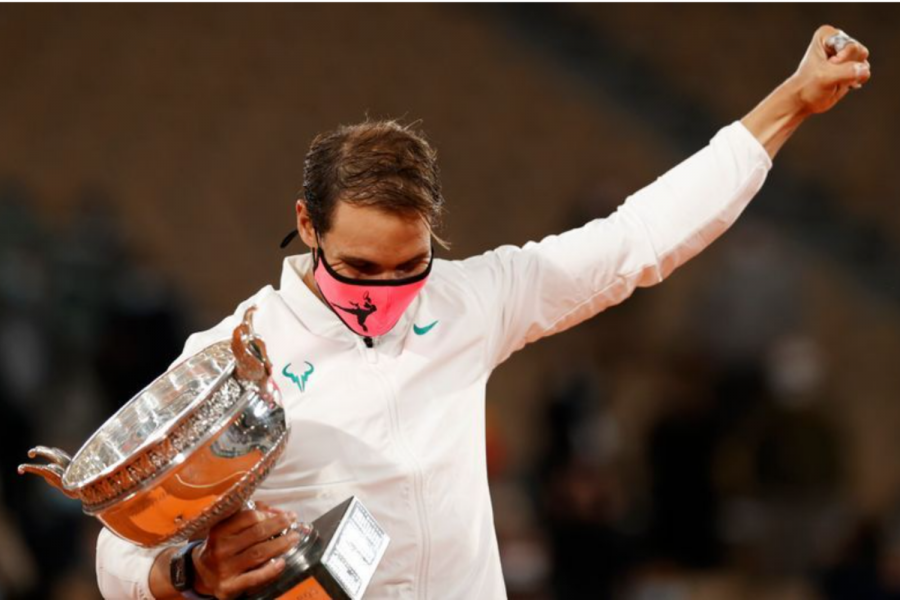 Spain's Rafael Nadal won against world number one Novak Djokovic of Serbia 6-0 6-2 7-5 in the French Open final