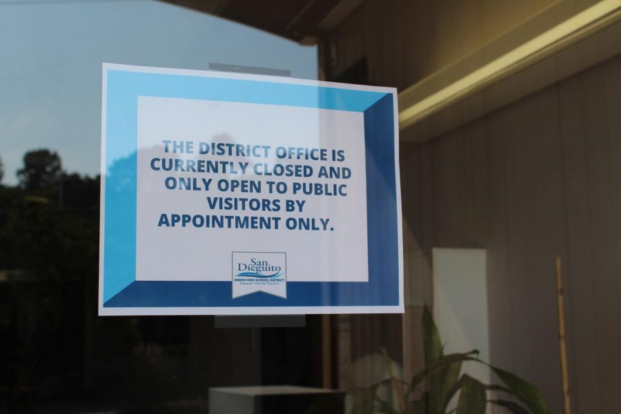 SDUHSD board meeting discusses reopening, health, and inclusion