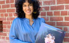San Dieguito Academy alumna Anoushka Shankar poses with her newest EP Love Letters on a vinyl record on Aug. 29, 2020