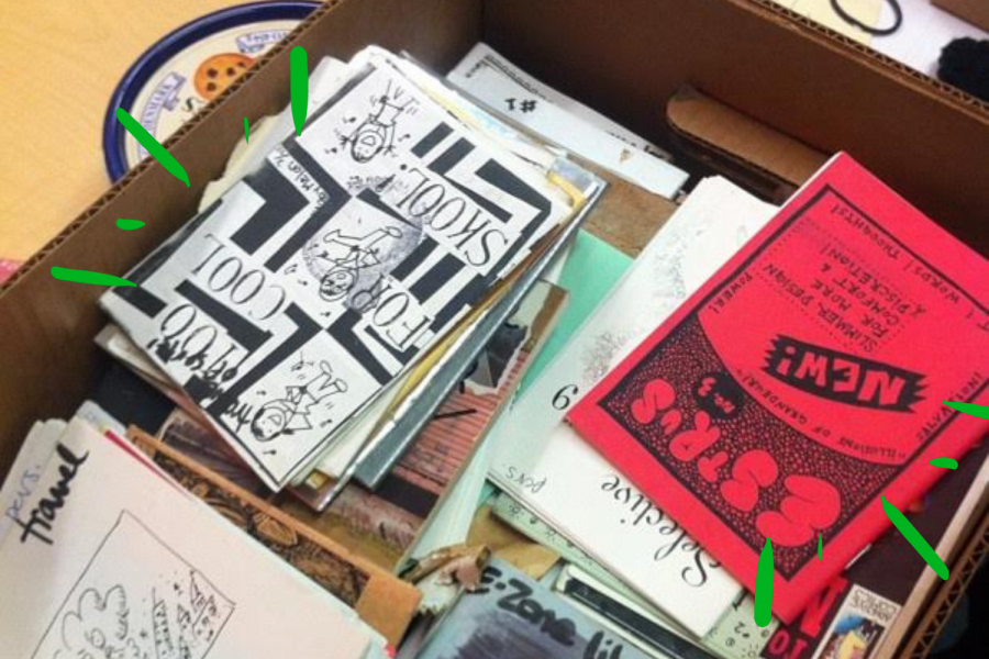 San Francisco punk zines at Prelinger Library