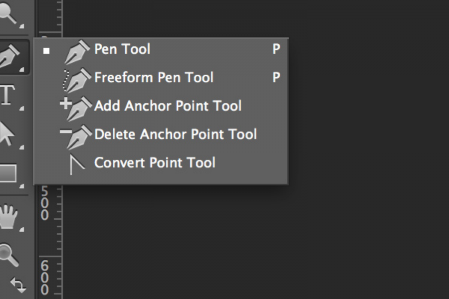 Photoshop pen and other tools