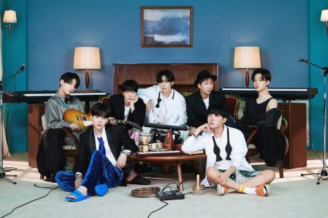 The boy group BTS has been one of few K-pop artists releasing pandemic-inspired content in the past year