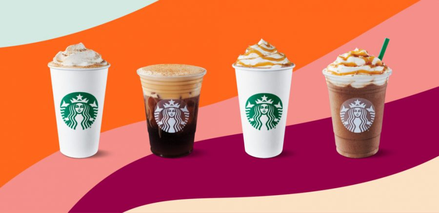 The new Starbucks fall drink collection was released on Aug. 24th.